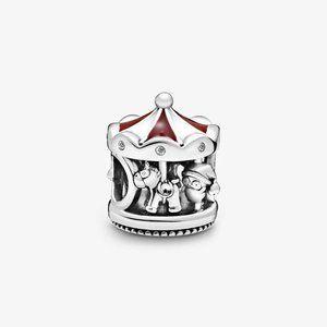 Pandora Christmas Carousel Charm